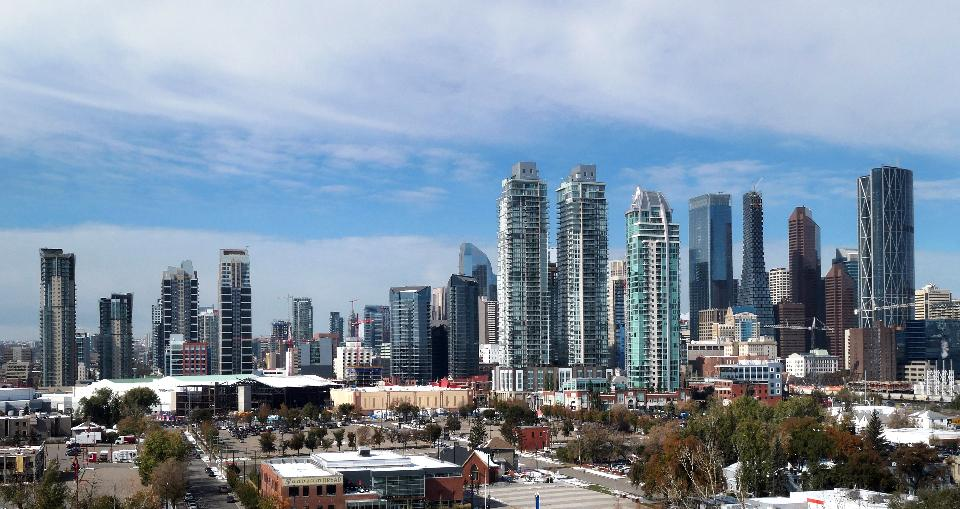 Cityscape in Calgary