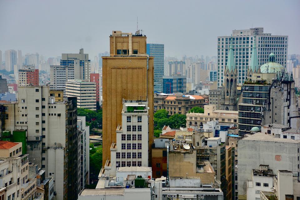 聖保羅天際線巴西