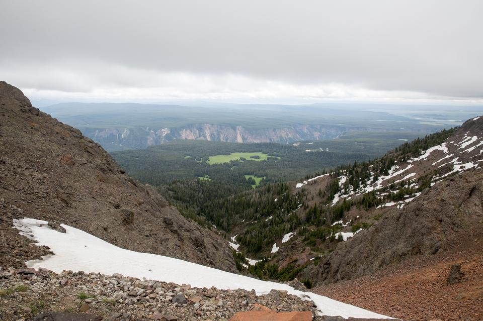 沃什伯恩山,黃石國家公園