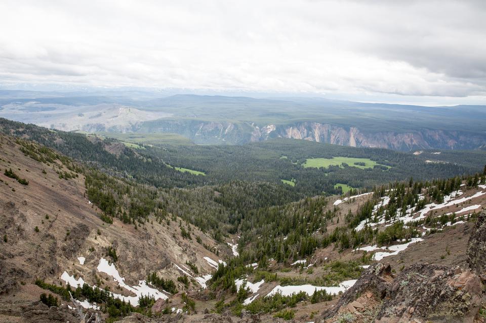 Montieren Sie Washburn, Yellowstone Nationalpark