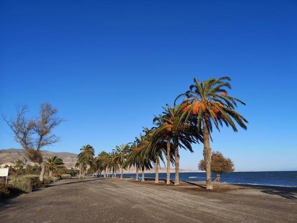 Cala de Cala Mesquida con playa de arena.