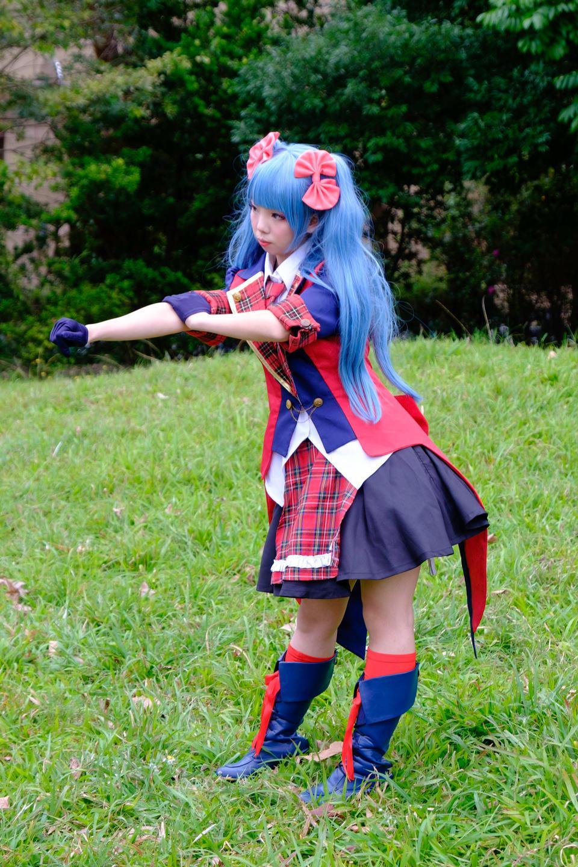 亞洲cosplay女孩日式