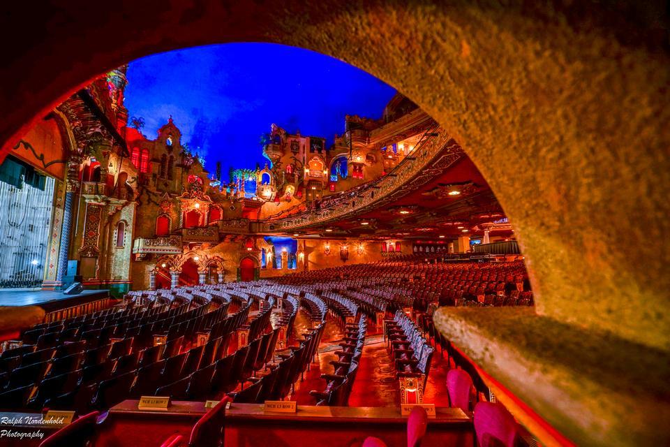 礼堂。歌剧院内部。乌克兰敖德萨