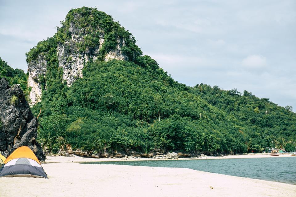 奎松省的Borawan岛