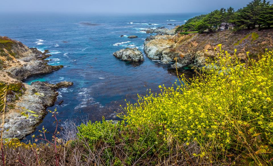 Beautiful California Coast - Big Sur, Monterey County, California