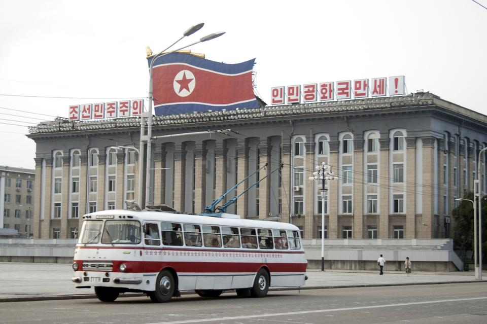 Kim Il Sung Square is Pyongyang's central square