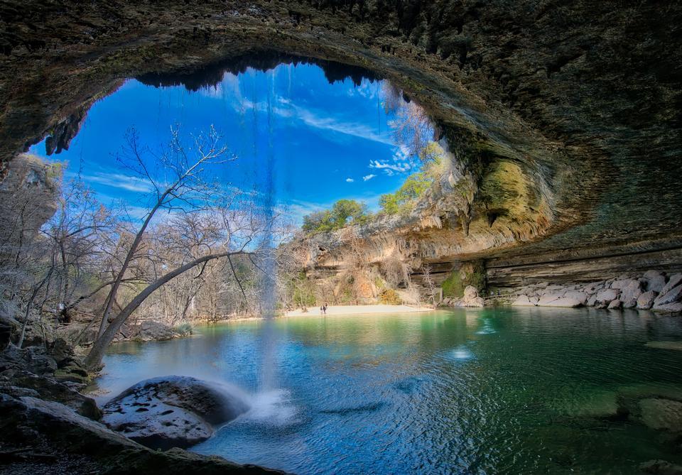 Hamilton Pool Preserve en Texas