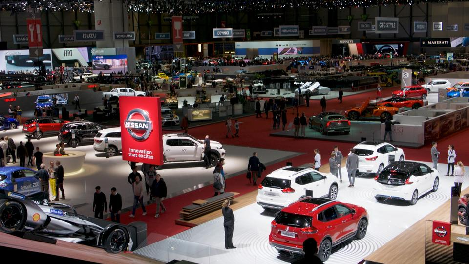Motor show 2019 Geneva, Switzerland