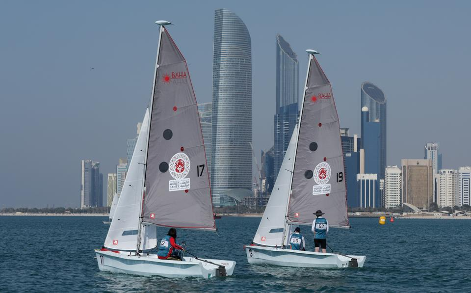 World Summer Games 2019, in barca a vela