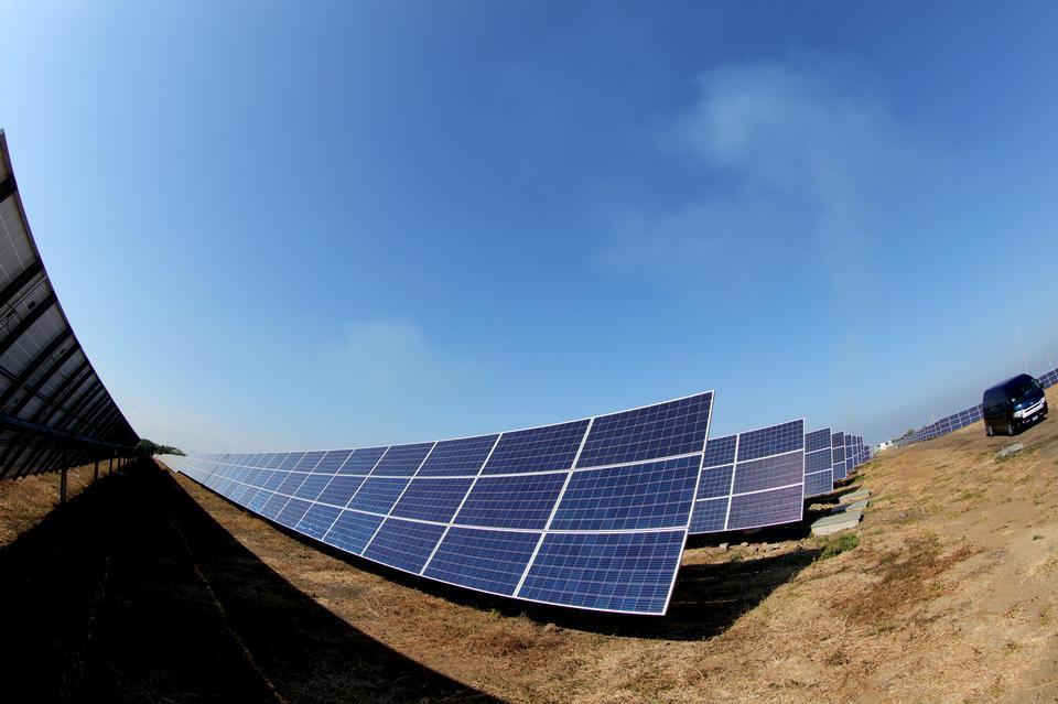 太阳能电池板,光伏,替代电源