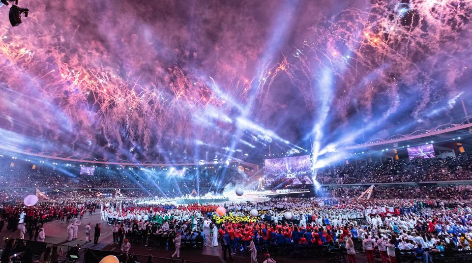World Summer Games 2019, Eröffnungszeremonie