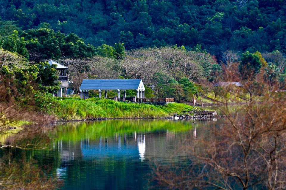 Liyu Lake in Hualien, Taiwan