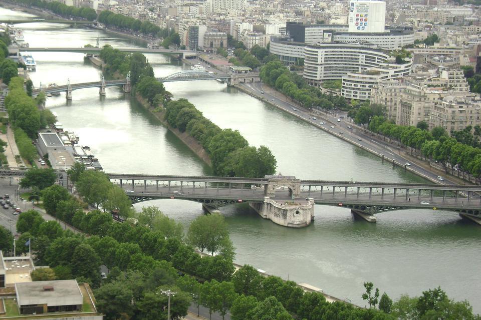 都市风景巴黎法国