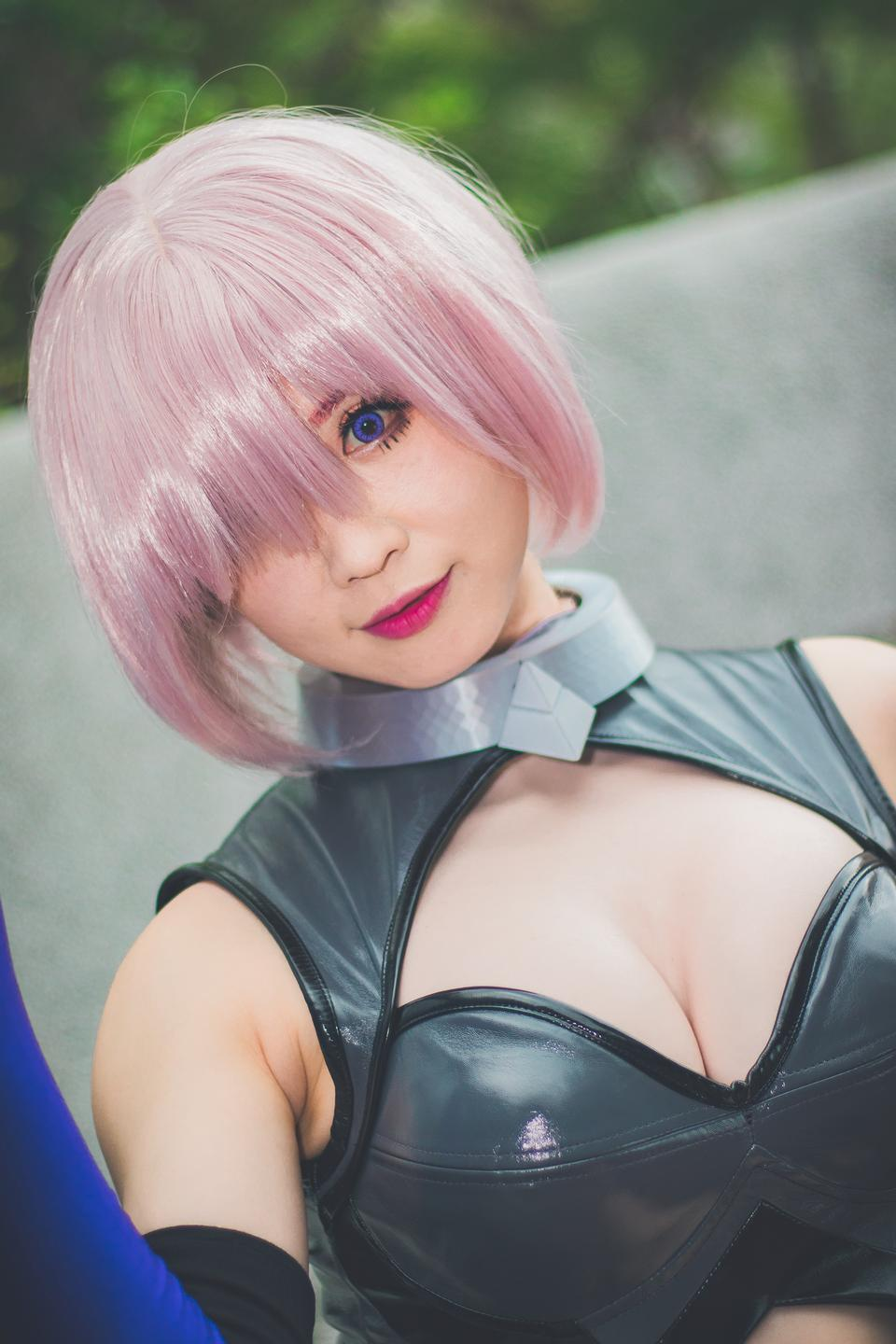 Portrait of Japan anime cosplay woman