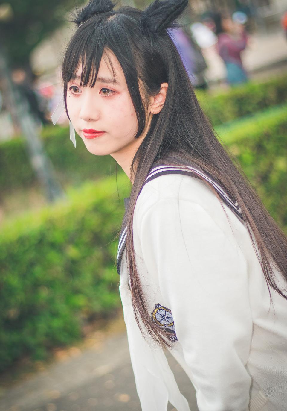 日本动漫cosplay女孩画像