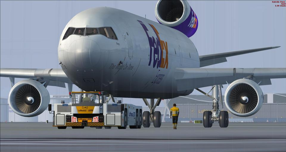FedEx Cargo Airplane