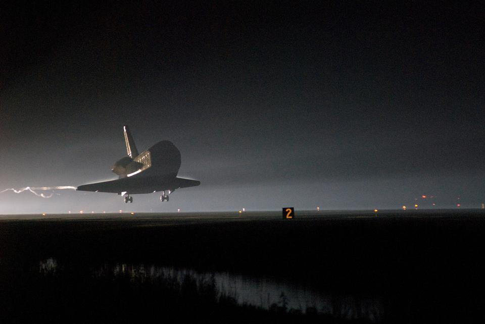 Space Shuttle Endeavour Touchdown