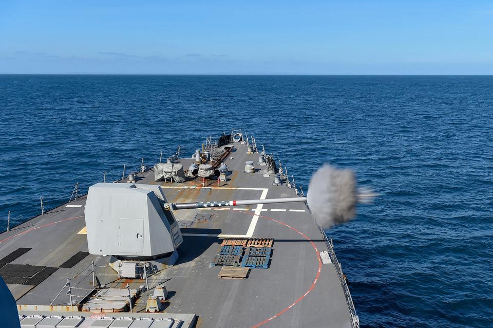 誘導ミサイル駆逐艦USS Gravely