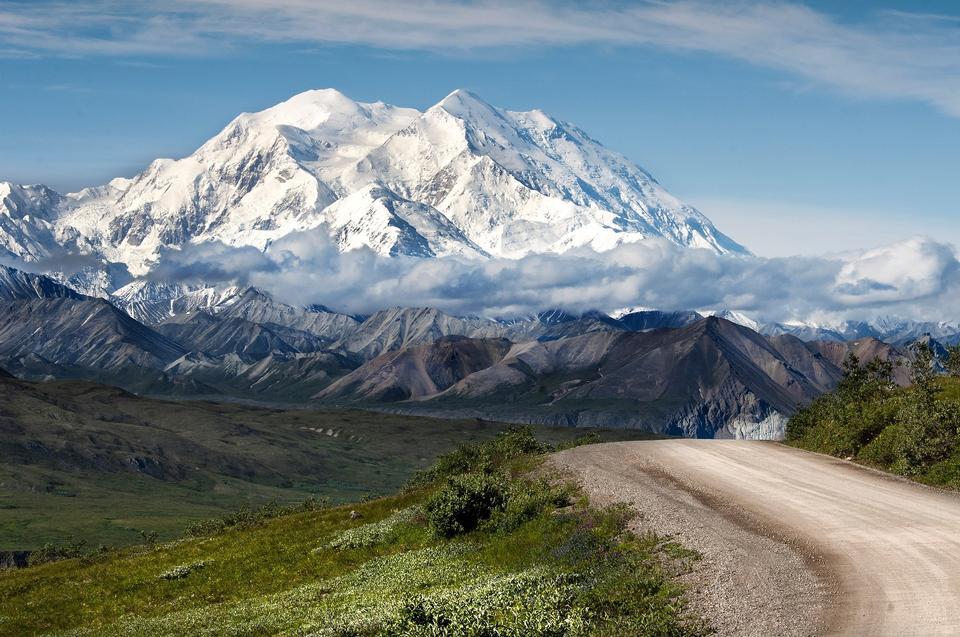 アラスカ州デナリ国立公園