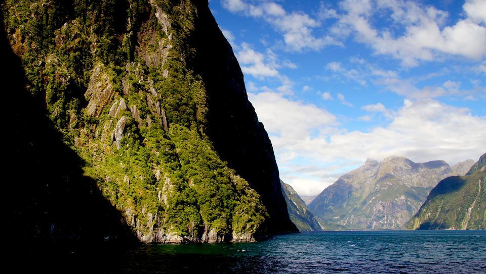 The Fiordland National Park