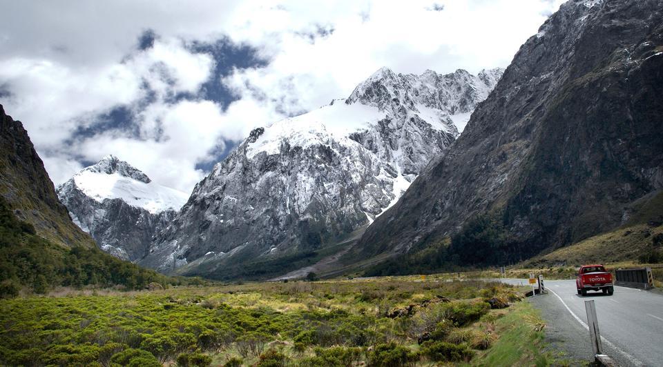 The Fiordland National Park in Otago, New Zealand