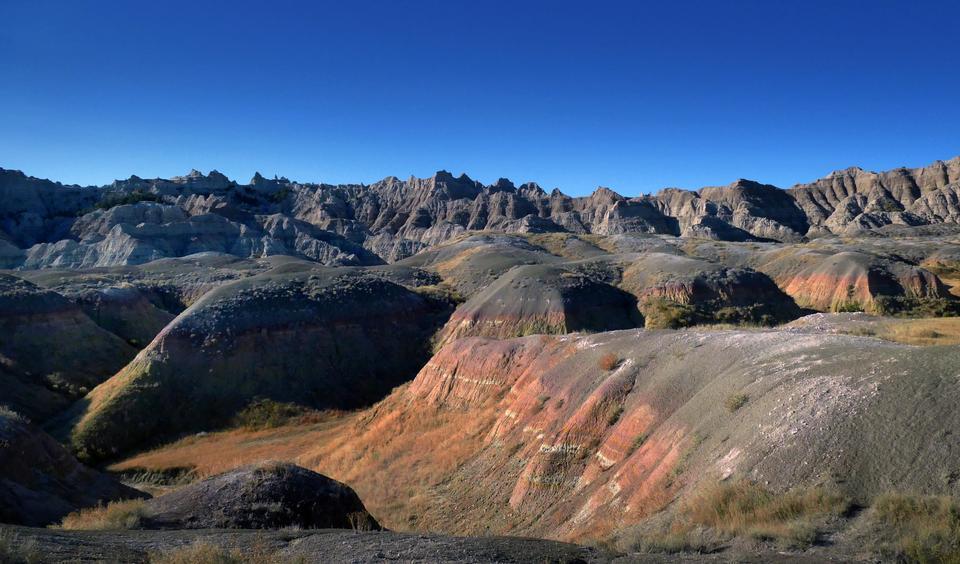 Badlands National Park, Южная Дакота