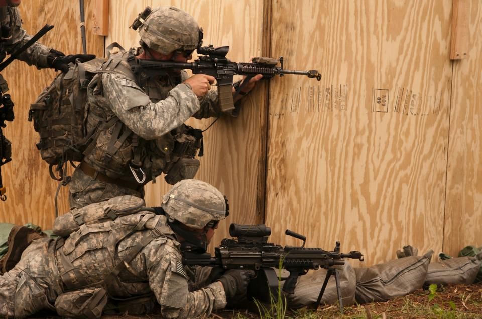 U.S. Army paratroopers