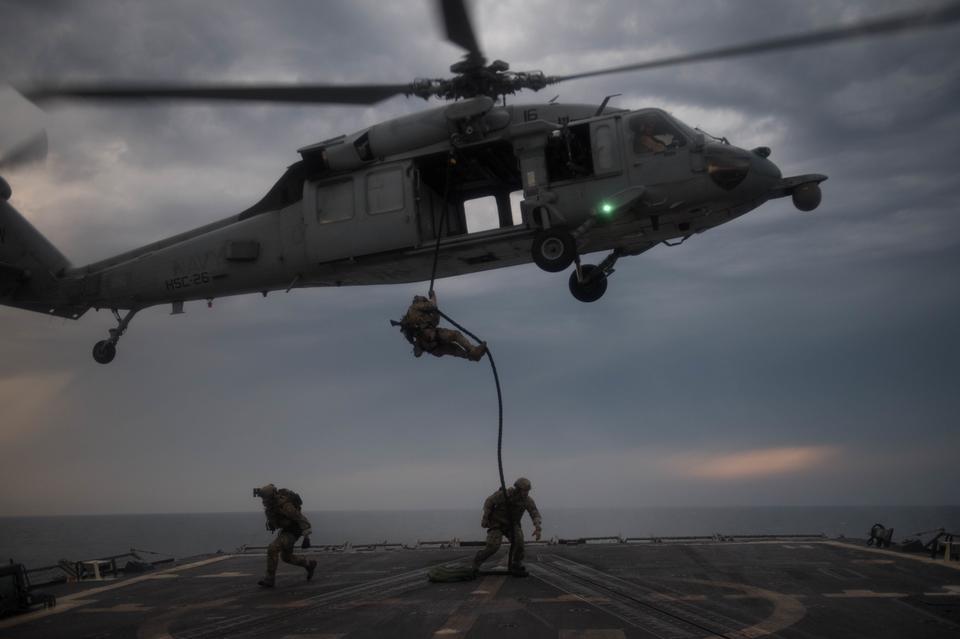 U.S. Coast Guard Maritime Security Reaction Team