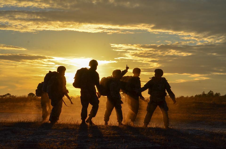 第3旅団戦闘チームの空挺部隊