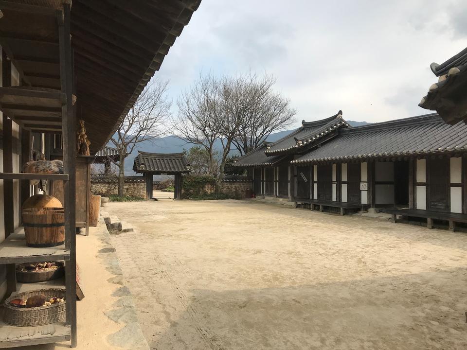 韓国Hadongにある土地Tojiドラマセット