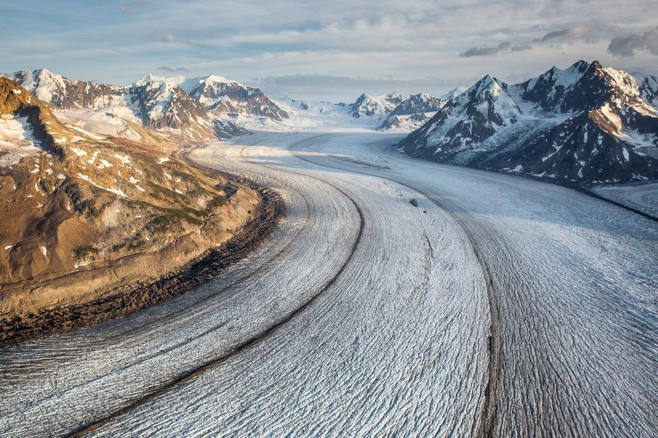 Mt. St. Elias, le mont. Miller, Bagley Icefield