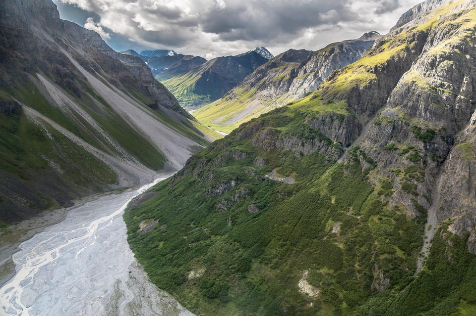 Hidden Creek, Wrangel Mountains