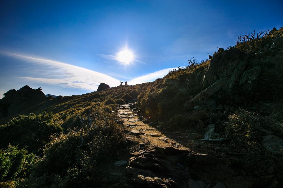Beautiful Trails Sancha Shan in Taiwan