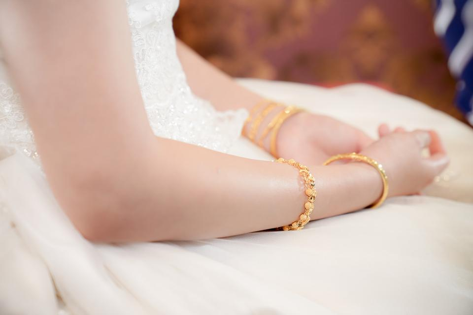 Manos de la novia