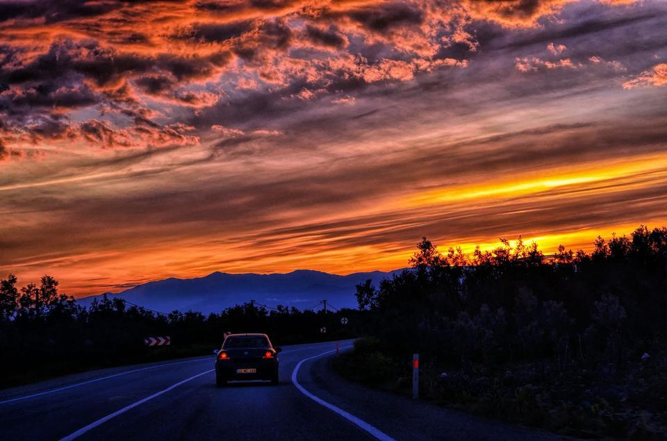 Turkish Sunsets Road