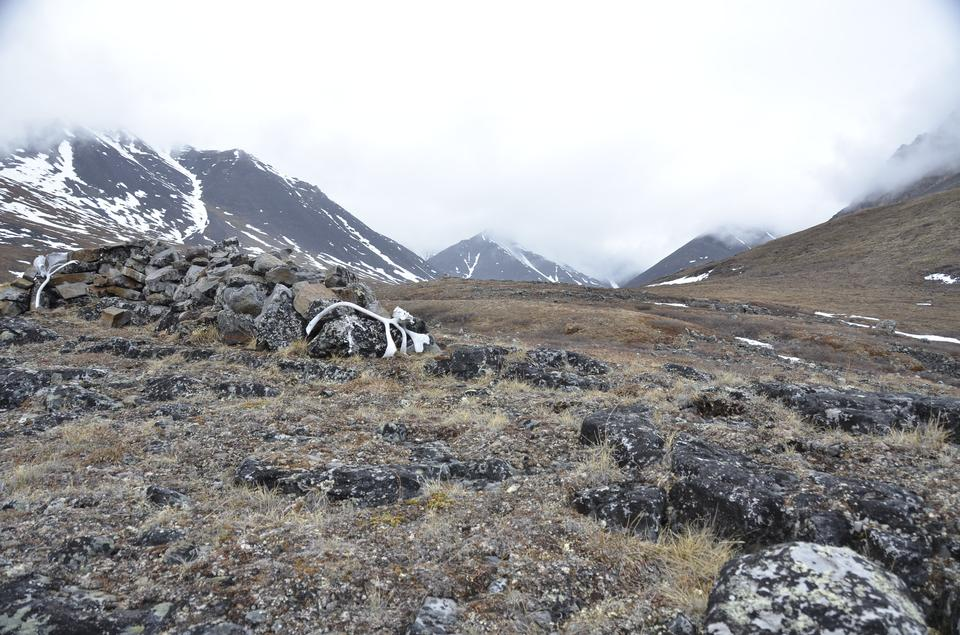 Anaktuvuk Pass in Alaska