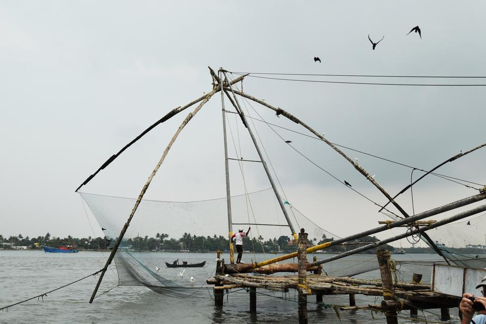 Fishing in Vietnam Sea