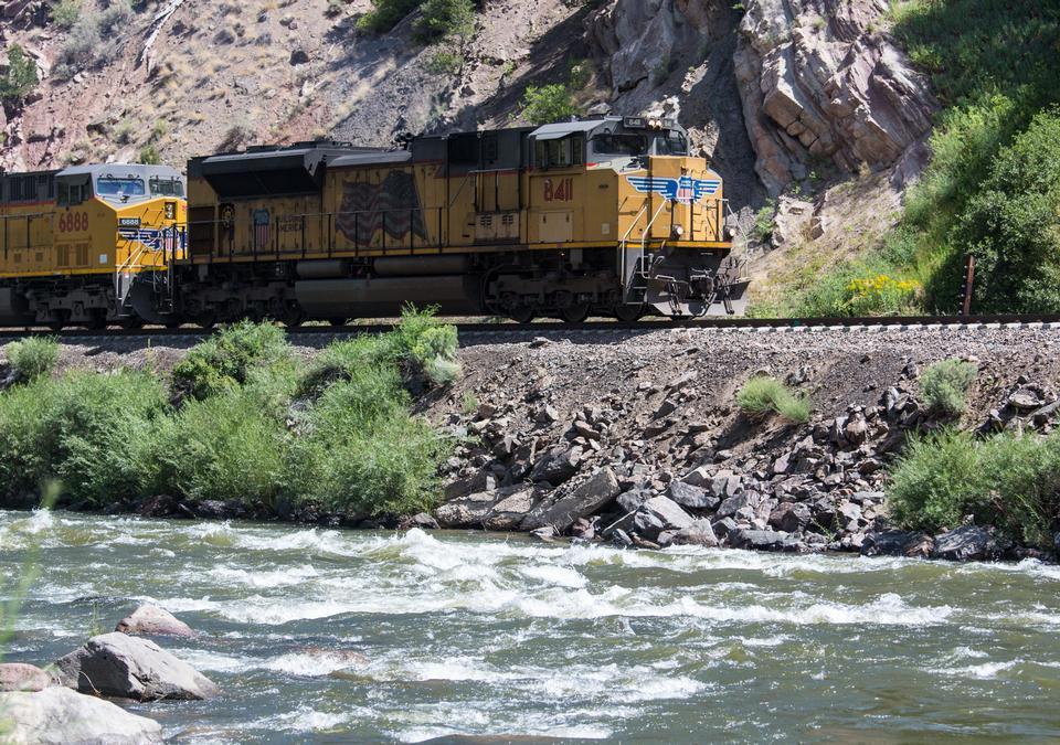 Cargo Train on Upper Colorado River
