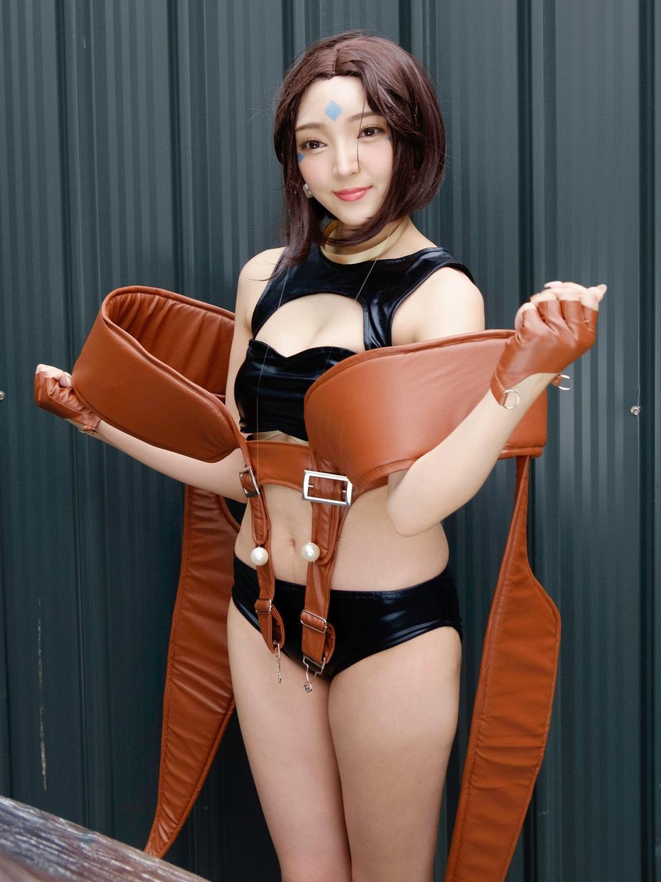 Японский аниме костюм девушка портрет