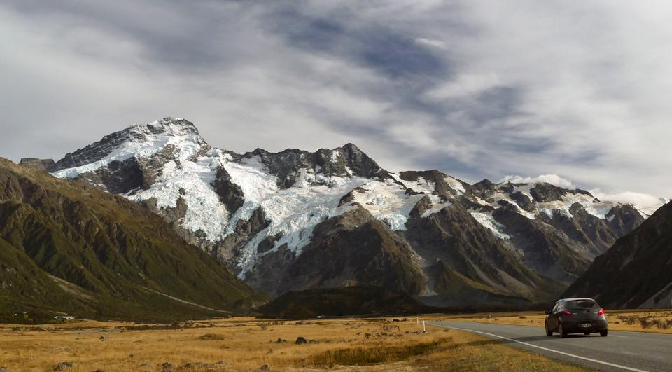 Mt Cook Национальный парк в Новой Зеландии