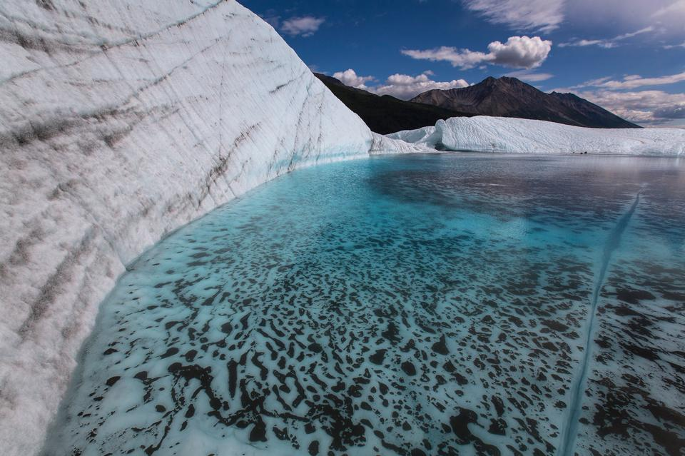 Pool on the Root Glacier