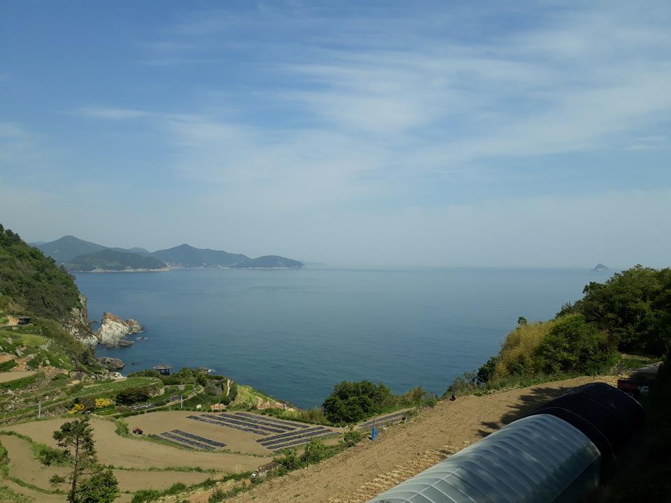 Darangee Village in Namhae South Korea