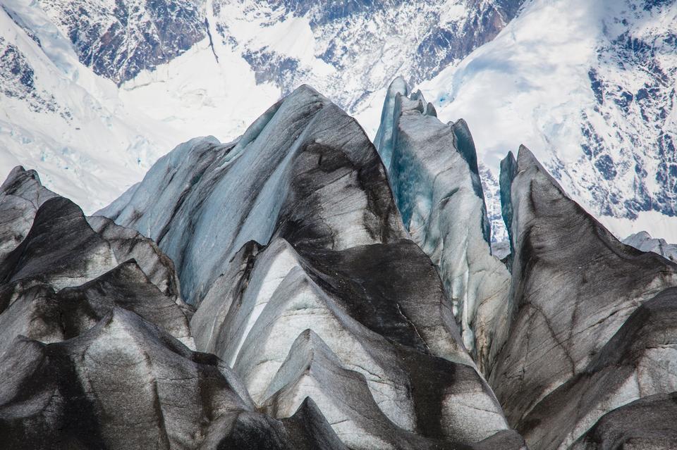 Kennicott Glacier Crevasses