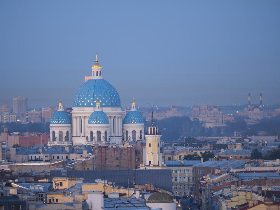 View of Russian Orthodox Cathedral of Saint Nicolas