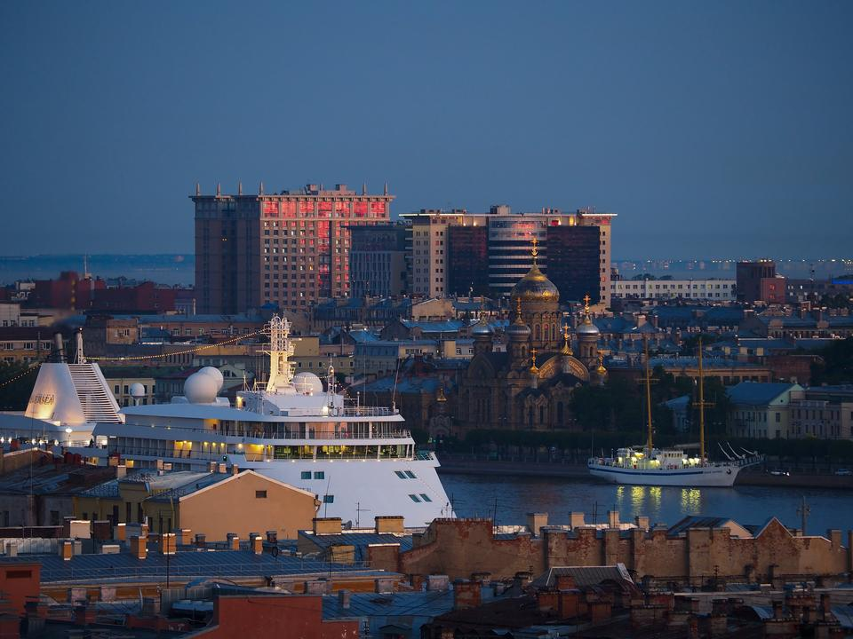 cityscape  in Saint Petersburg