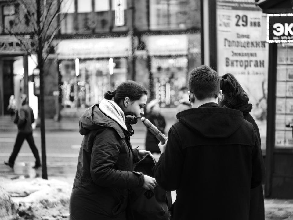 people in Saint Petersburg