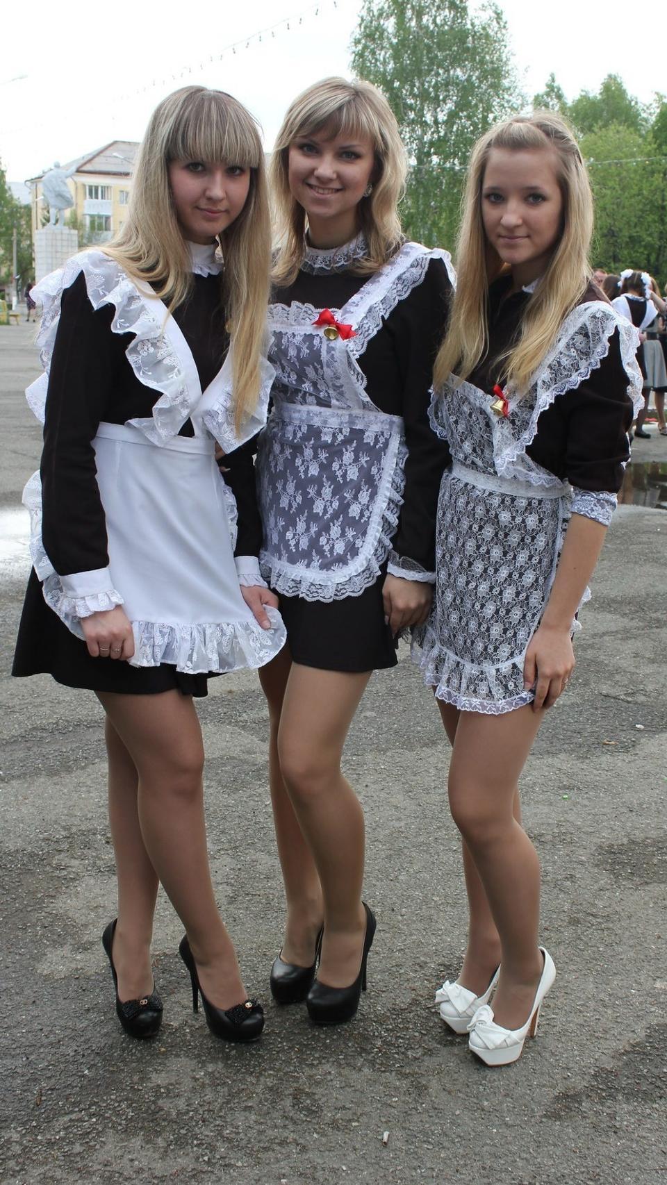 Russian cuty school girls