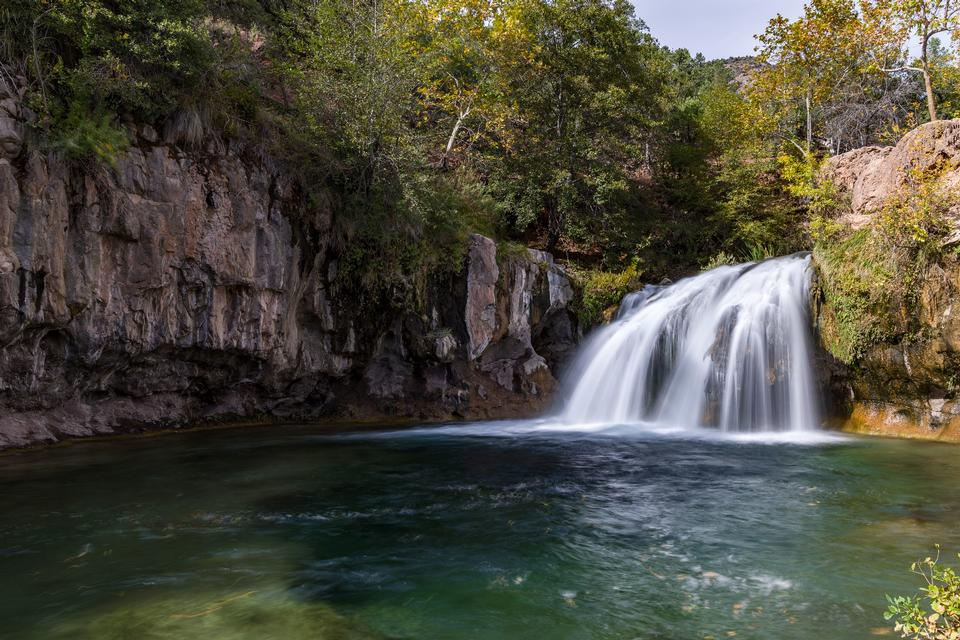 Autumn on Waterfall Trail, Fossil Creek