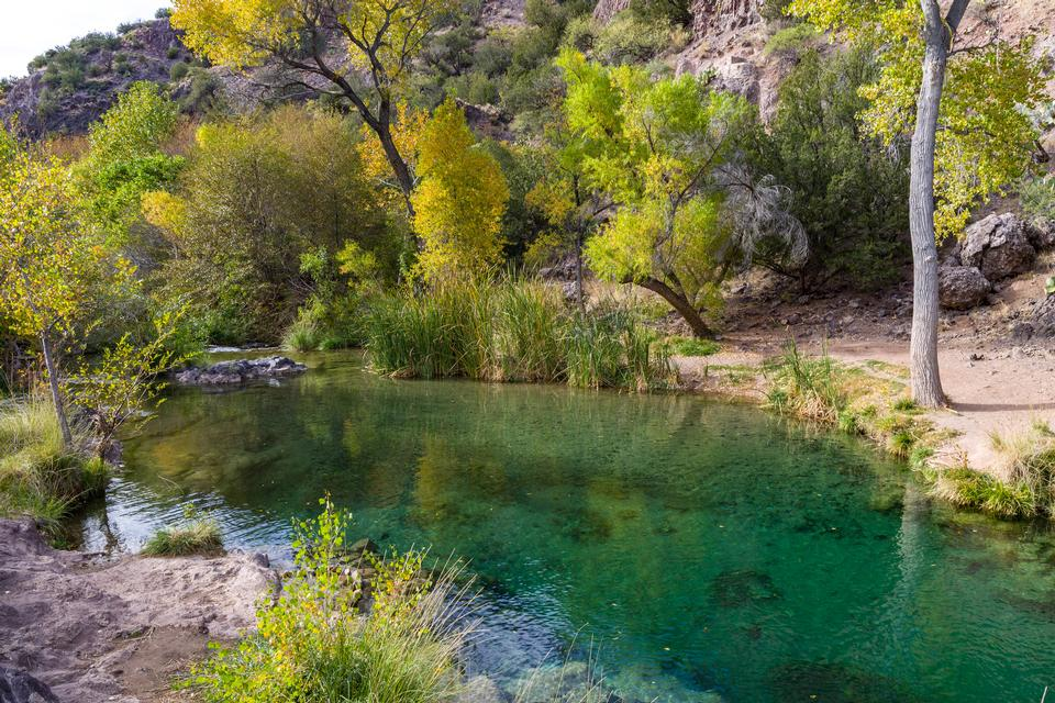 Autumn at Tonto Bench, Fossil Creek