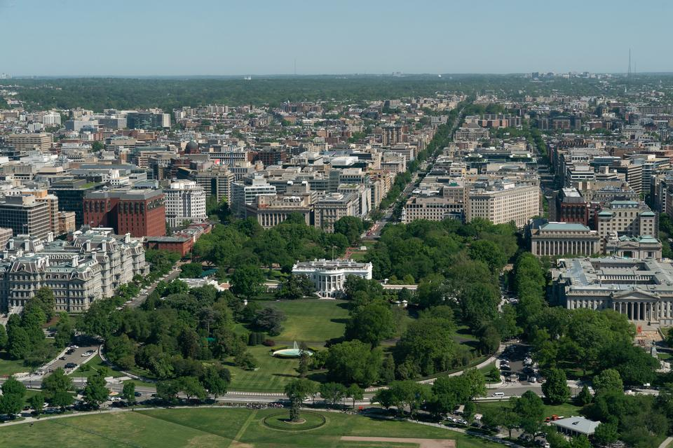 Tour of the Washington Monument's observation deck